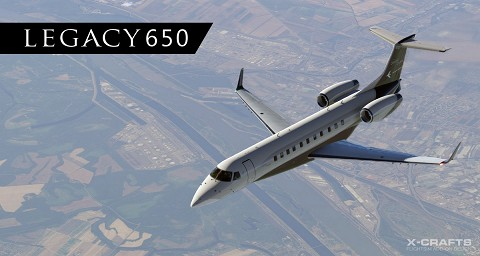 Embraer Legacy 650 by X-Crafts