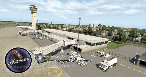 KDET Detroit Downtown Airport
