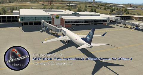 KGTF Great Falls International Airport